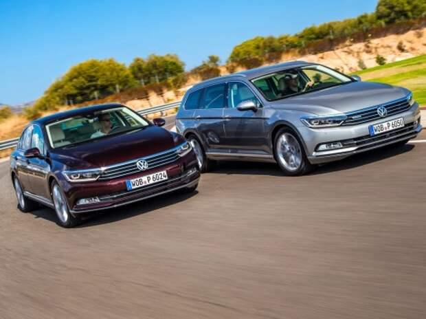 Тест нового VW Passat: носом по ветру