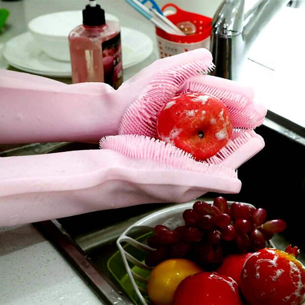 Перчатки для хозяйственных работ.   Фото: magen2.ir.