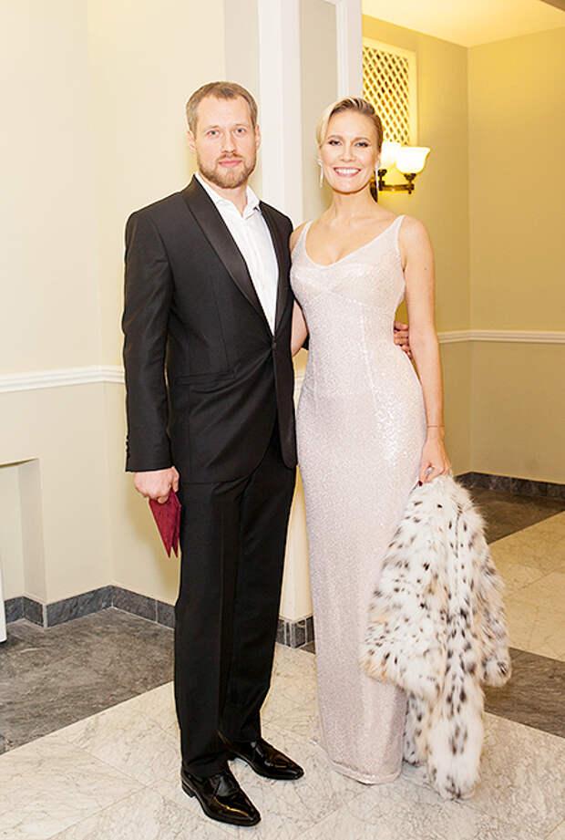Елена Летучая с мужем Юрием
