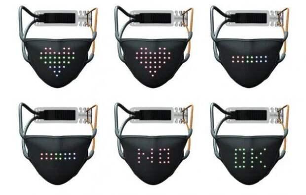 Защитная маска JabberMask способна передавать эмоции