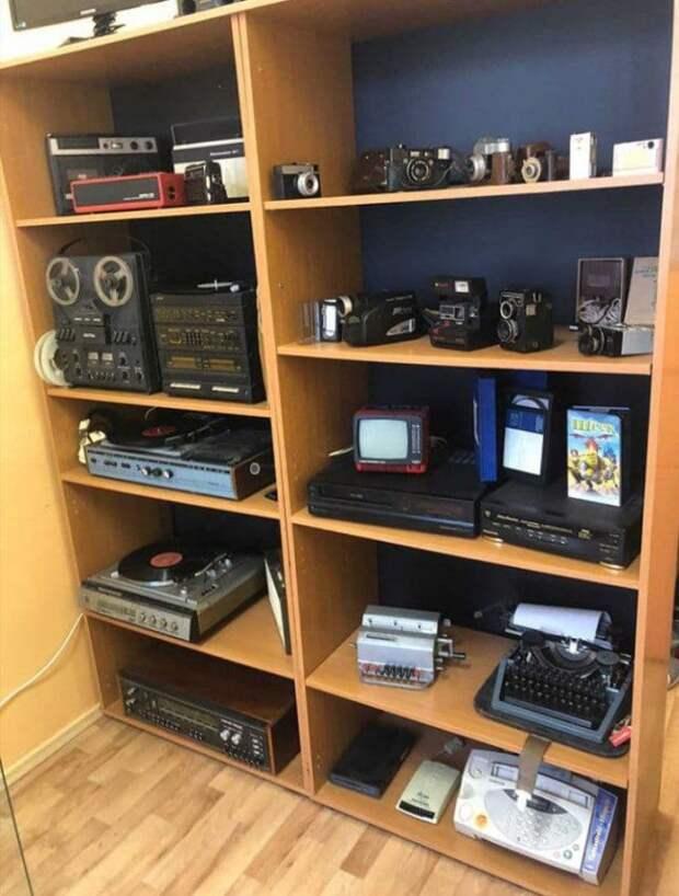 В школе на Дубнинской улице открылся музей ретро-техники