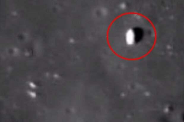 Луна - полая, найден вход в эту огромную базу инопланетян