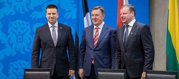 Прибалтийские «друзья» первыми вышвырнут Украину из Европы