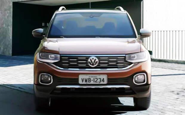 Новый конкурент Креты - дешевый кроссовер T-Sport от Volkswagen