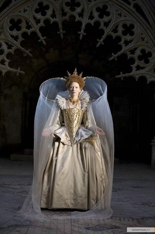 Наряды Кейт Бланшетт в фильме «Елизавета: Золотой век»