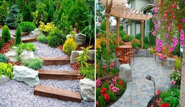 Садовые дорожки своими руками, которые станут изюминкой на дачном или частном участке