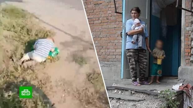Мать спавшего на обочине дороги ребенка ограничат в правах