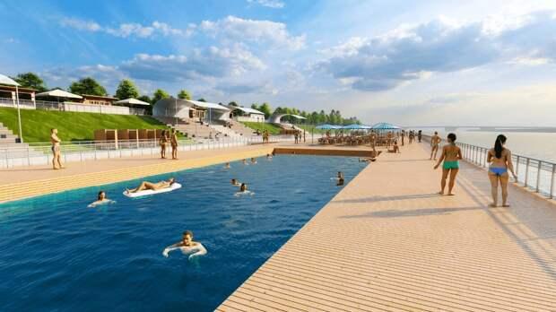 Открытие нового пляжа ожидается ко дню рождения Назарбаева в Нур-Султане