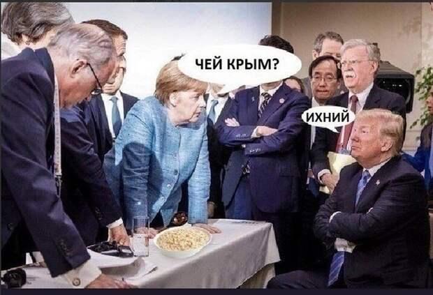 Россия и Германия решают судьбу Украины без Украины