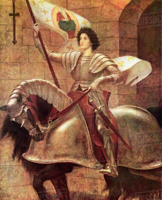 Легендарная Жанна д`Арк.