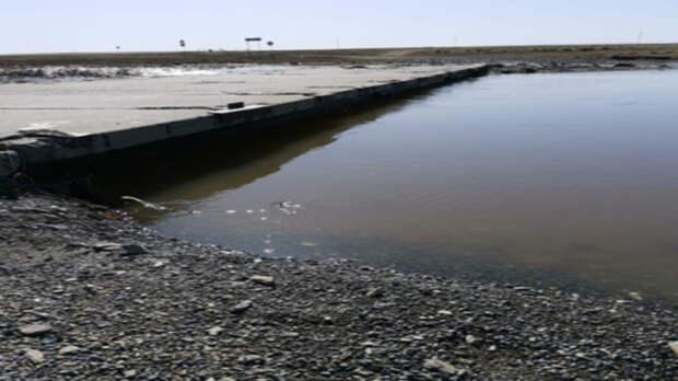Низководный мост вДомбаровском районе вновь открыт для движения