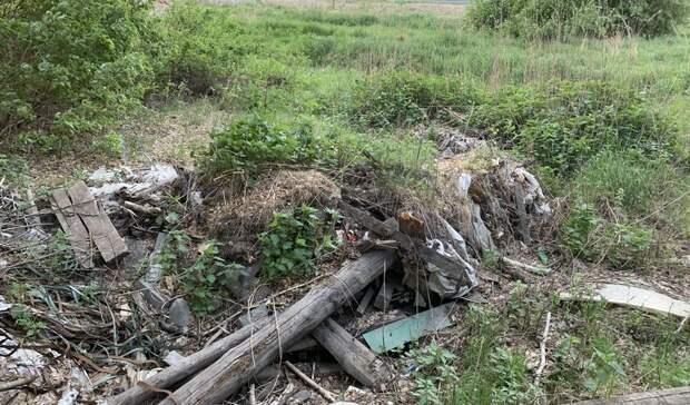 Свалка в микрорайоне Плеханово возмутила тюменцев