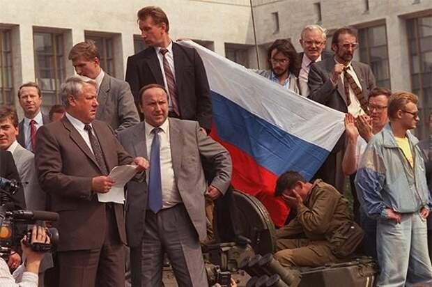 Как Ельцин отчитался Бушу о развале СССР