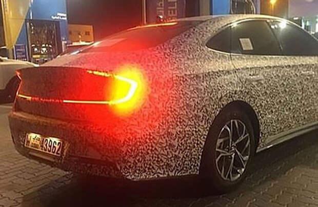 Новая Hyundai Sonata: первые фото