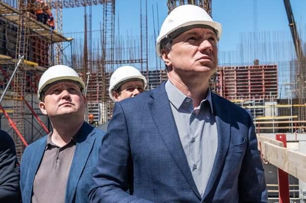 Хуснуллин в Севастополе инспектирует реализацию ФЦП