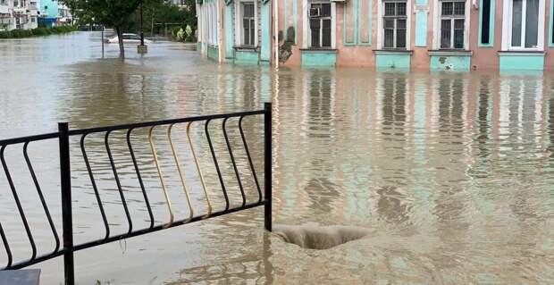 Погода в Крыму — сильные ливни