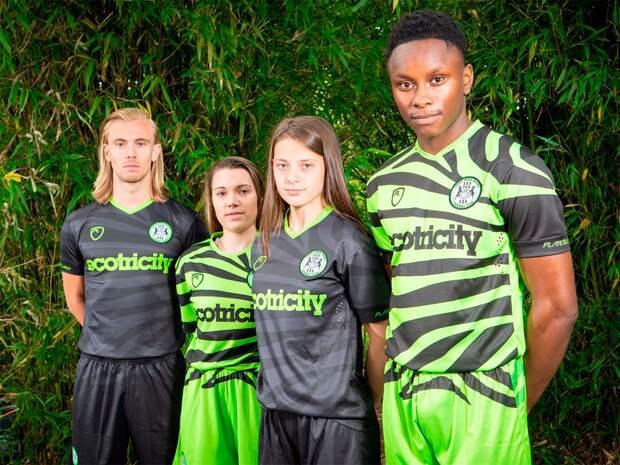 Самый «зеленый» клуб вмире представил комплект формы избамбука