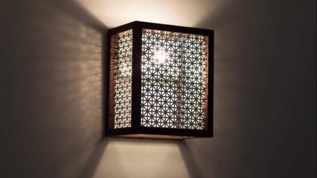 Не тратьте деньги на дорогой светильник, сделайте его сами из простых материалов
