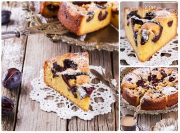 Пирог со сливами быстро и просто — рецепты из разных стран