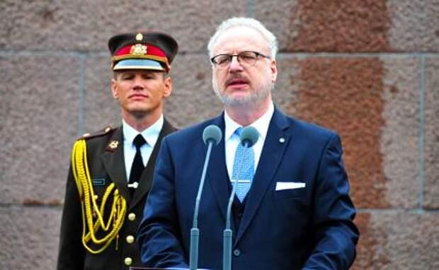 На фото: президент Латвии Эгилс Левитс