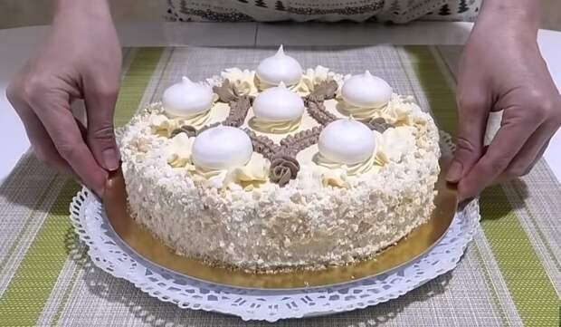 """Воздушно – ореховый торт """"Полет""""! Один из самых вкусных и популярных"""