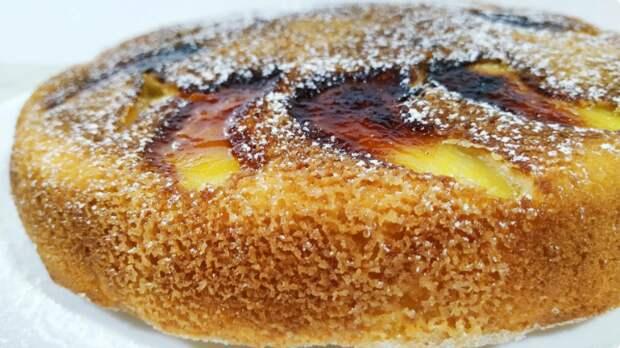 Быстрый и вкусный яблочный пирог без выпечки в духовке за 15 минут
