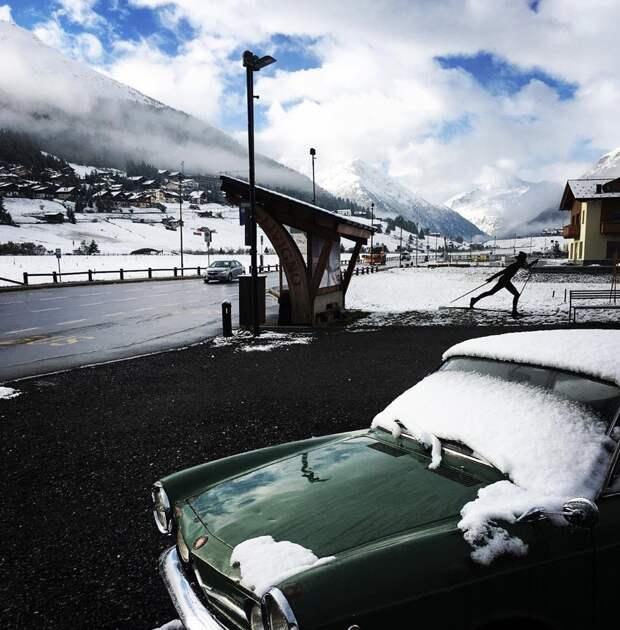 ❄️ Север Италии засыпало снегом. Вот 6 фото и видео