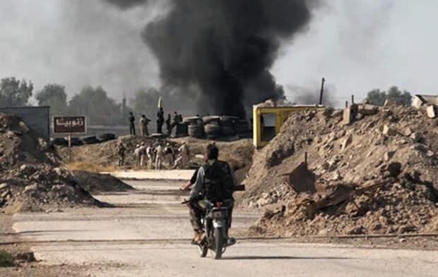 В провинции Дейр-эз-Зор открыли стратегически важный участок дороги