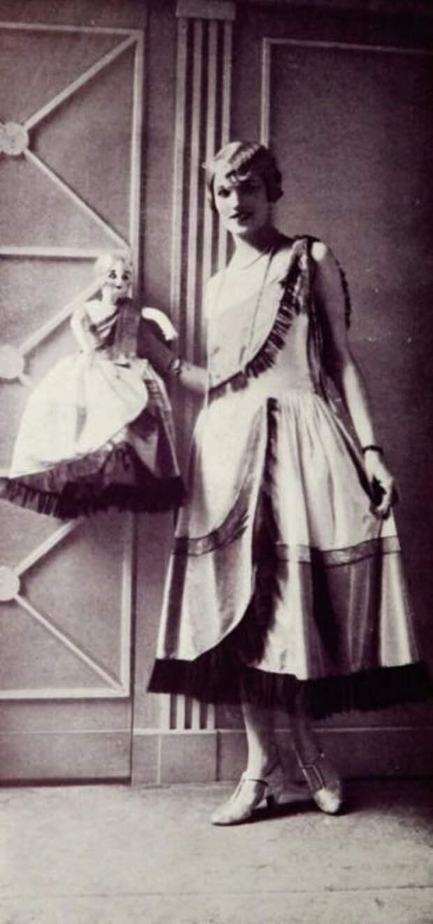 Платье один в один, как и у куклы.