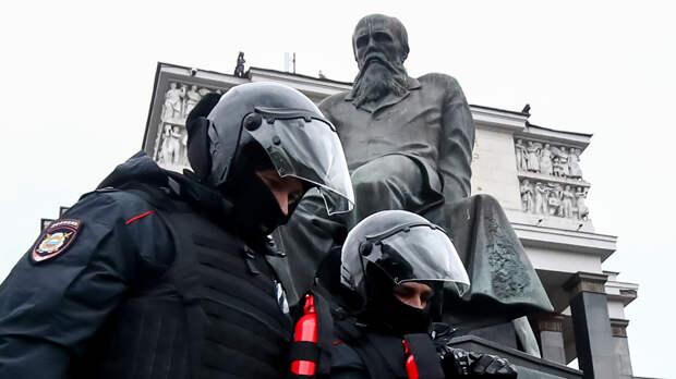 Митинги в поддержку Навального 21 апреля. Фотохроника