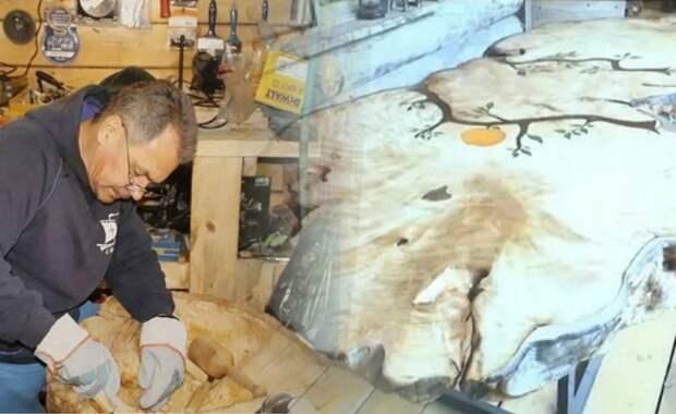 Работы из дерева Сергея Шойгу продали на аукционе за 40 млн рублей