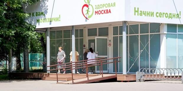 Специальные анкеты ускорили процесс обследования в павильоне «Здоровая Москва» в Лианозовском парке