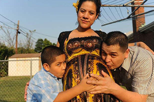 Вот как выглядят девушки, беременные сразу 4, 6 и 8 детьми