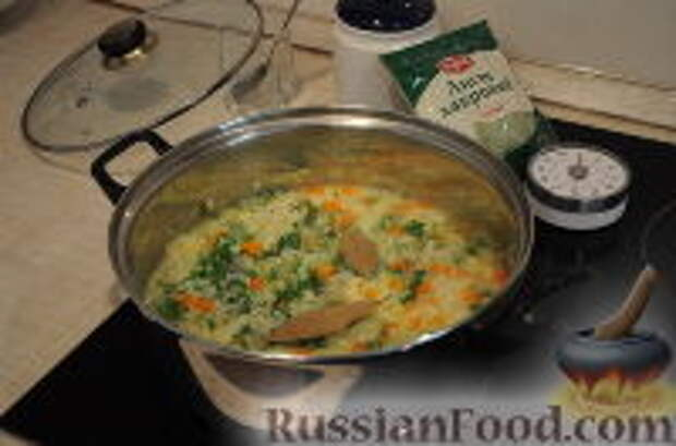 Фото приготовления рецепта: Кулеш украинский - шаг №13