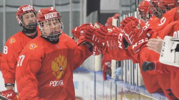 Сборная России обыграла Финляндию и вышла в финал ЮЧМ-2021 по хоккею