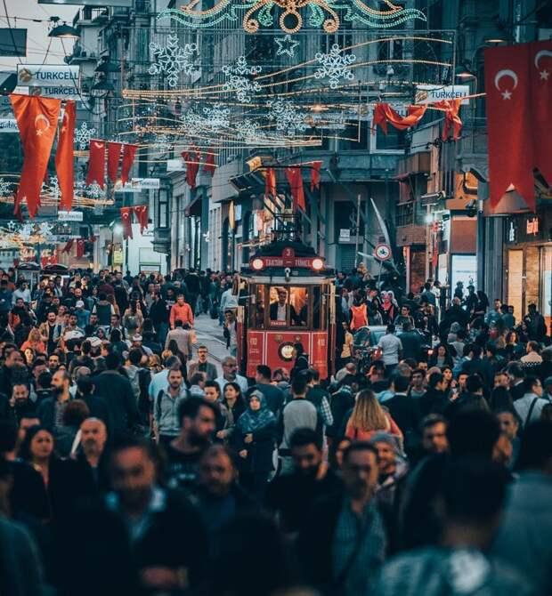 Улица Истикляль, Стамбул, Турция Instagram, СССР, достопримечательности, москва, стамбул, сша, универсал, фотография