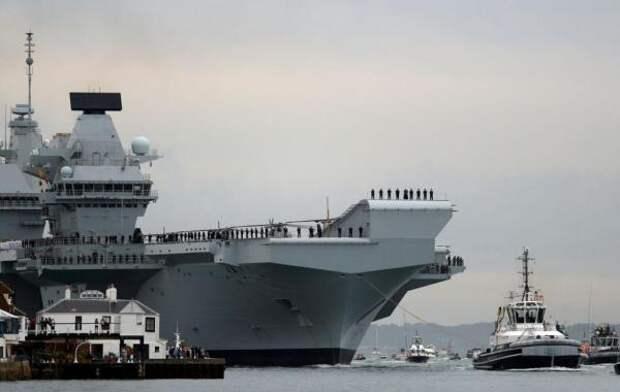Британские военные корабли направятся в Черное море в поддержку Украине