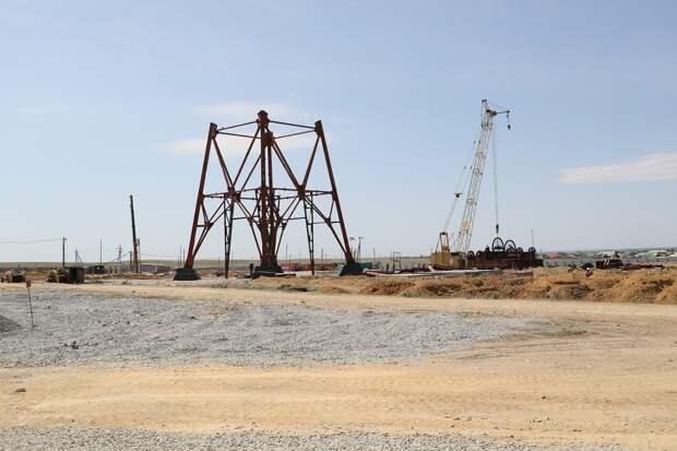 Над «Восточной вентиляционной» строят шахтный копер