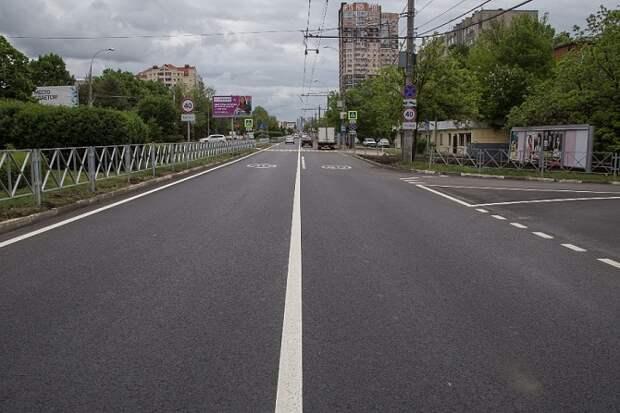 На Кубани раньше срока завершили ремонт дорог по нацпроекту