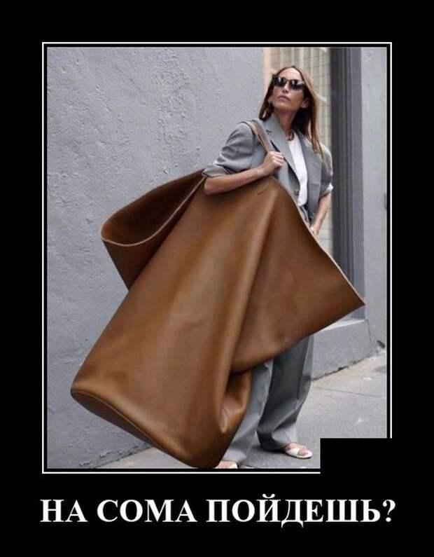 Демотиватор про сумки