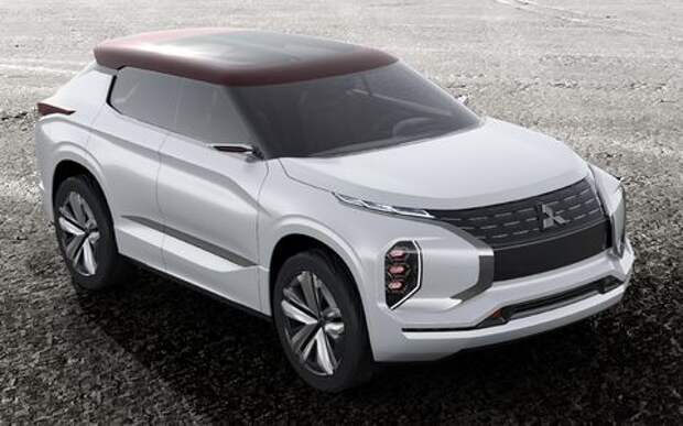 Mitsubishi опубликовала фотографии вседорожника нового поколения