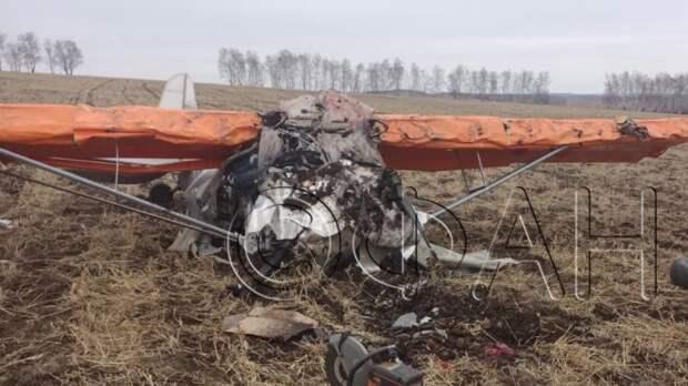 ФАН публикует кадры с места крушения самолета в Иркутской области