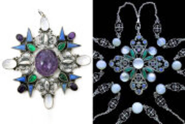 Fashion: Ковер из драгоценных камней и эльфийские броши от ювелира, влюбленного в Средневековье: Сибил Данлоп