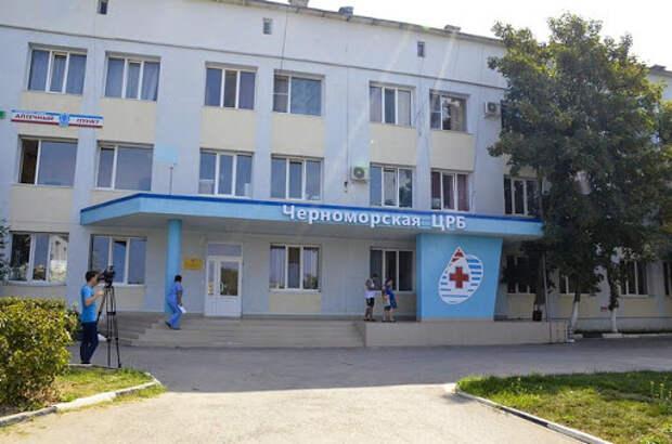 Глава крымского Минстроя раскритиковал капремонт больницы в Черноморском