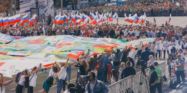 Митинг-концерт на Сахарова собрал 110 тыс человек/mos.ru