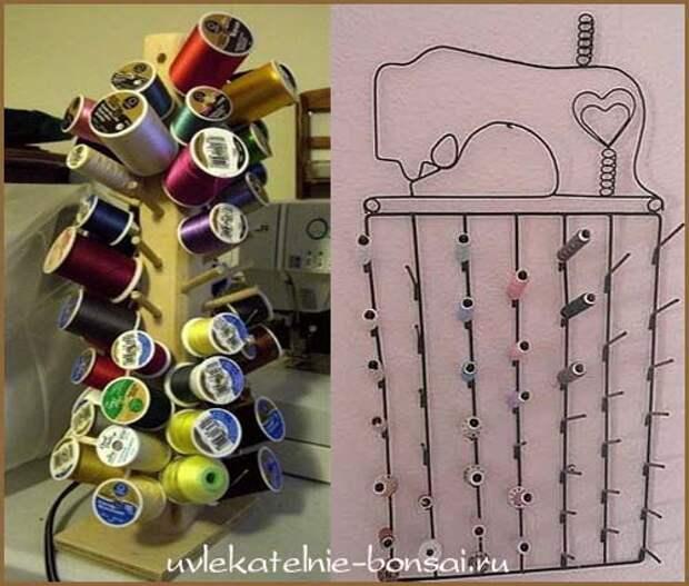 Швейная машинка...для ниток!