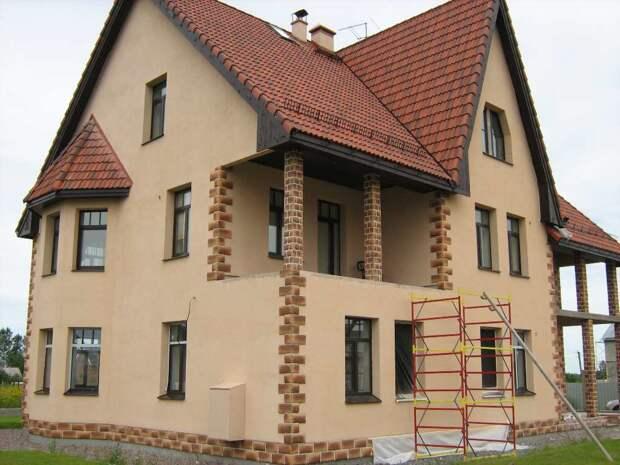 Как штукатурить дом из газобетона