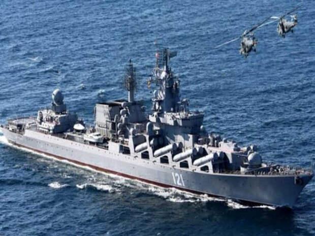 Российский военный флот будет охранять гражданские иранские корабли, следующие в Сирию
