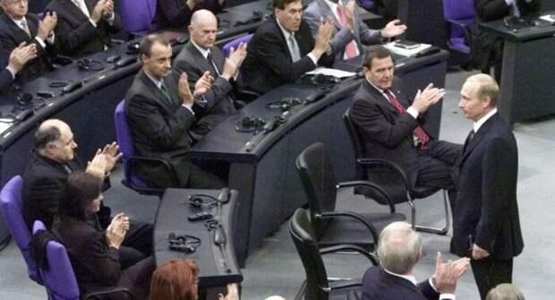 Путин сразил немцев, переговорив кандидата вканцлеры Германии на их языке