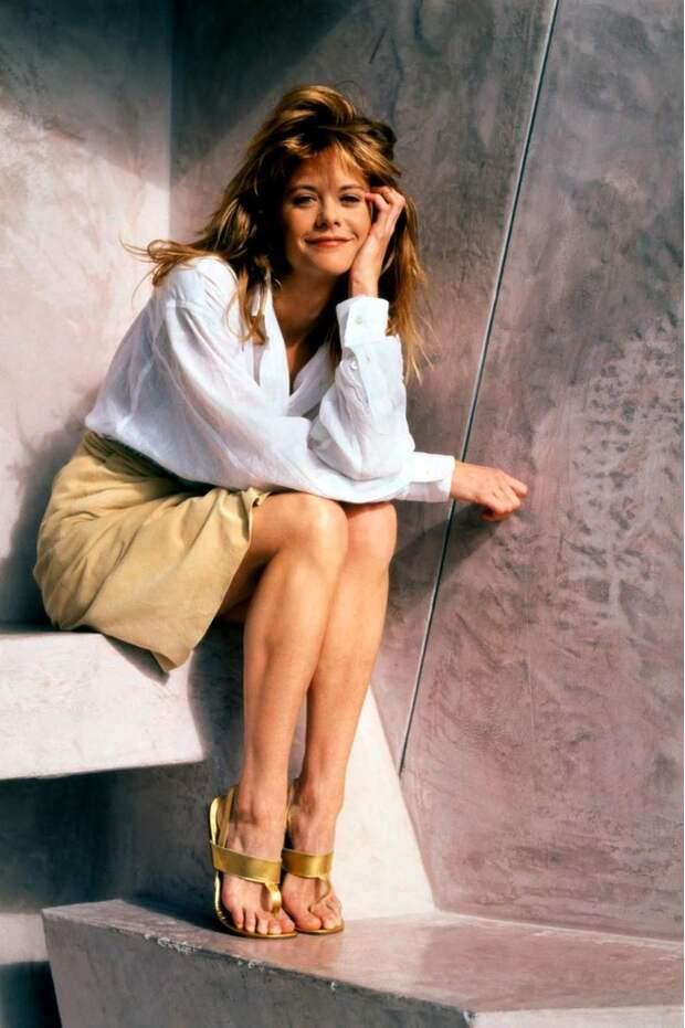 Красотка из 80-ых Мег Райан
